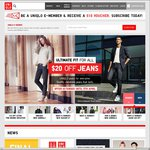 UNIQLO: $10 off + Free Shipping on Any Order above $50