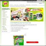 Free Sample Scotch Brite® Heavy Duty Foam Scrub 2 Pack $0