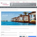 Win 100,000 Velocity Frequent Flyer Points from Virgin Australia