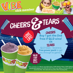 Boost Juice - Buy 1 Get 2nd Free if QLD Wins or Free Power Pack for Loss, Origin Game 1 [QLD]
