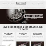 25% off Australian Made NATO Straps and Accessories. $15 Each Reduced from $20. Free Shipping
