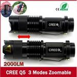 Mini CREE LED Flashlight US $2.68 (~AU $3.65) Free Shipping @ DD4.com
