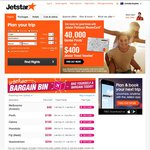 Jetstar Gift Vouchers - Buy One, Get Another Valued at 10% of The One Purchased