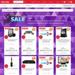Melbourne Cup Sale up to 90% off at SONIQ Online Store - Refurb: Set Top Boxes $5, Mini Cube Bluetooth Speaker $29 & More