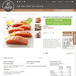 55% off Norwegian Atlantic Salmon Fillets Skin Off 700g $10.30 ($14.71/kg) @ Dish'd [MEL/SYD]