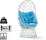 ALDI - Swivel Egg Chair $99.99 (Available in Black or White)