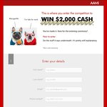 Win $2000 Cash from AAMI