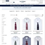 T.M. Lewin All Shirts $40 & Free Shipping