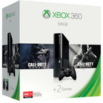 Xbox 360 500GB Bundle with COD: Ghosts, COD: BO2 - $199 Delivered @ Microsoft Store Australia