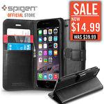 SPIGEN Wallet S Case for iPhone 6S/6S Plus/6/6 Plus $14.99 Delivered @ Progadgets eBay