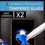 Apple iPhone 6s/6s Plus & 7/7 Plus Glass Screen Protector X2 - $1 - Shipped from QLD - eBay: Phoenix.store