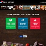 Domino's Pizza Traditional or Chef's Best $7.95 Pickup