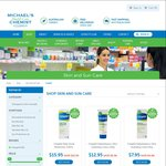 Up to 50% OFF RRP on Cetaphil Products Online @ Michael's Chemist + $9.95 Shipping (Free over $100)