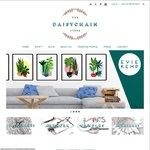 25% off Storewide @ Daisy Chain Store (Homewares, Artwork, Candles & Jewellery Ruby Teva) - Free Postage Under 1kg