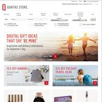 Qantas Store 10% off (QFF Points Redemption), Includes Gift Cards and Sale Items