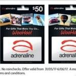 40% off Skype & Adrenaline Gift Cards @ Coles (Starts 31/5)