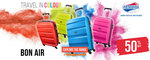 Up to 57% off American Tourister Bon Air Luggage @ Bagworld