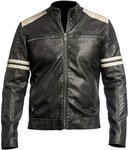 100% Original Leather Jacket (Cow or Goat Leather) $199 @ Alpha The Store