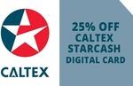$15 for a $20 Caltex Starcash Digital Card @ Groupon