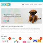 Pet Tag Collection from $6 Shipped with Free Engraving & Upgrade to Priority Mail Outside WA @ Paw ID