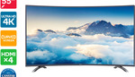 "Kogan 55"" Curved 4K LED TV (Series 9 MU9500) $599 Delivered @ Kogan"