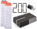 2pcs 18shoots Clips + NERF 200pcs Darts - US$20.46 (~AU$25.93) Shipped (Save 62%) @ LighTake