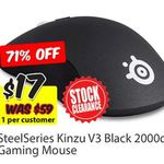 SteelSeries Kinzu V3 Gaming Mouse $17 @ MSY