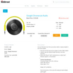 Google Chromecast Audio ($49.50 or $44 if Sales Exceed 11 Units + $2 Fixed Shipping ) Volstreet.com
