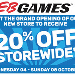 Grand Opening of EB Games at Tarneit Central (VIC) - 20% off in-Store