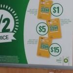 1/2 Price Optus Prepaid SIM Starter Kits @ BP - $30 Now $15 / $10 now $5