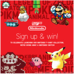 Win a Nintendo Switch Worth $469 from UNIQLO