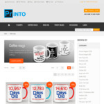 33% off All Novelty Coffee Mugs from Printo - from $10 + Shipping