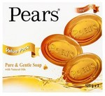 Pears Transparent Glycerine Soap - Box of 3 Bars $3 (Was $6) @ Coles