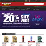 Minimum 20% off Site Wide @ Supercheap Auto (Online Only)