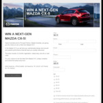 Win a Next-Gen Mazda CX-5 Worth $48,130 from Opera Australia/Mazda