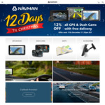 12% off All GPS and Dash Cams + Free Delivery @ Navman