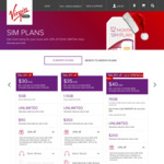 Virgin Mobile 12 Mth SIM Only | $32 Mth | 20GB Data | Unlimited Calls & SMS | $200 Int | $40 Cashback | (Also 28GB for $40 Mth)