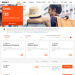 Jetstar Australia Day Domestic Sale: One Way Fares from $29 (Avalon), from $39 (Other Airports)