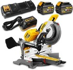 Dewalt DHS780T2A-XE Cordless Sliding Compound Mitre Saw Kit (Was $1649) Now $1149 @ Sydney Tools