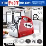 Euro-Chef Electric Meat Grinder Sausage Maker Filler Mincer $52.20 Delivered @ Mytopia eBay