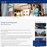 Free Changi Dollar Voucher (SGD $20) for Transiting Passengers in Singapore Travelling on SQ, MI or NZ Airlines