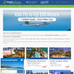 Kids Fly to Fiji from $99 Return and Stay, Play & Eat FREE at Selected Resorts @ TravelOnline