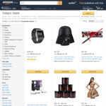 Fitbit Ionic Smart Fitness Watch $299, Save on Simon - Star Wars Darth Vader Edition $14 + More @ Amazon AU