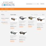 50-60% off Tom Ford Designer Sunglasses - from $249 @ Eyecarecontacts