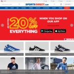 20% off Everything Using The App at SportsDirect.com