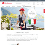Win a Holiday in Italy for 2 Worth $9,000 from Birdsnest
