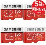 Samsung EVO Plus MicroSD 256GB $88.35 Delivered @ Flash Pro eBay