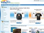 Free T-Shirt - Just Pay Postage from $8.62 VistaPrint