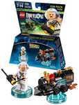 LEGO Dimensions Back to the Future Doc Brown Fun Pack $4 (Was $12), Skylanders Imaginators Sensei-Assorted* $4 (Was $8) @ Big W