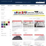 Sheridan 500TC Sateen QB Sheet Sets $99, Washed Linen QB Fitted Sheets $99 & More (Free Shipping Ends 14 Dec) @ Sheridan Outlet